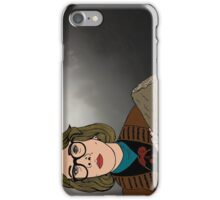 Log Lady iPhone Case/Skin