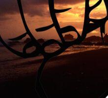 Hang Loose/Shakra Beach Sticker