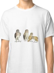 Giant barn owls from various islands Classic T-Shirt