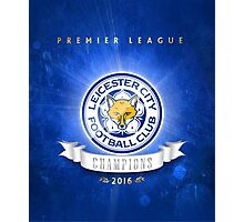 Leicester champions Photographic Print