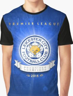 Leicester champions Graphic T-Shirt