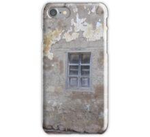 Shuttered Window and Wooden Door iPhone Case/Skin