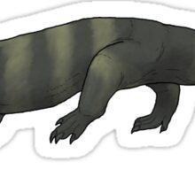 Varanus priscus or... Megalania prisca? Sticker