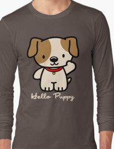Hello Puppy Long Sleeve T-Shirt
