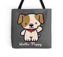 Hello Puppy Tote Bag