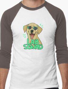 YELLOW LAB SQUAD Men's Baseball ¾ T-Shirt