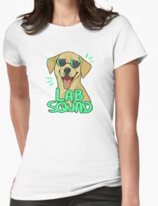 YELLOW LAB SQUAD Womens Fitted T-Shirt