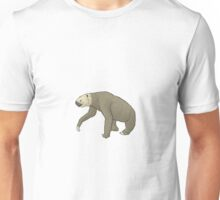 The North American ground sloth Megalonyx Unisex T-Shirt