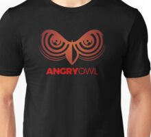 Angry Face Owl Unisex T-Shirt
