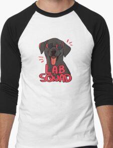 BLACK LAB SQUAD Men's Baseball ¾ T-Shirt
