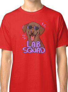 CHOCOLATE LAB SQUAD Classic T-Shirt