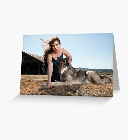 A Woman's Best Friend II Greeting Card