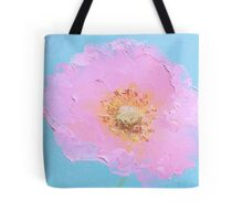 Pink Poppy painting Tote Bag