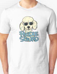 WHITE POODLE SQUAD Unisex T-Shirt