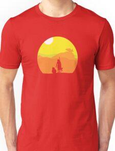 Rey on Jakku - Minimal  Unisex T-Shirt