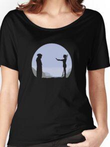 Meeting Luke - Minimal  Women's Relaxed Fit T-Shirt
