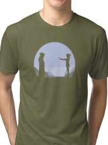 Meeting Luke - Minimal  Tri-blend T-Shirt
