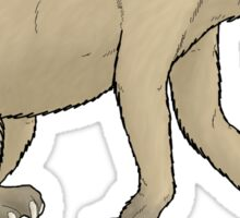 The ground sloth Nothrotheriops Sticker
