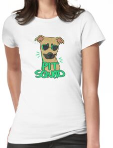 FAWN PIT SQUAD Womens Fitted T-Shirt