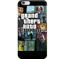 Grand Theft Horror iPhone Case/Skin