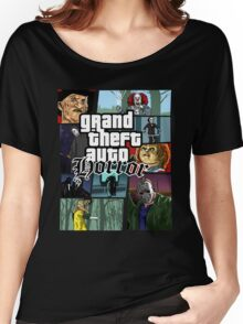 Grand Theft Horror Women's Relaxed Fit T-Shirt