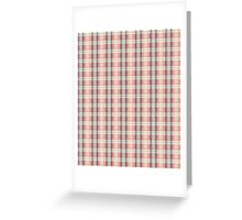 Pastel Plaid Greeting Card