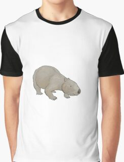 The giant wombat Phascolonus Graphic T-Shirt