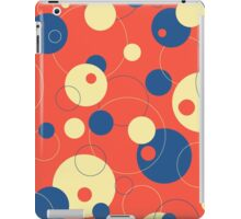 Bubbles - Spring Fashion Circles 2 Var 10 iPad Case/Skin