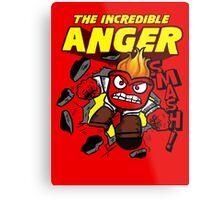 The Incredible Anger Metal Print