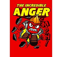 The Incredible Anger Photographic Print