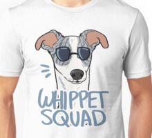 WHIPPET SQUAD (blue brindle) Unisex T-Shirt