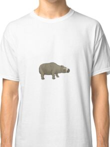 Toxodon, a South American ungulate Classic T-Shirt