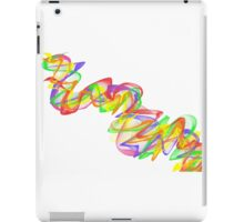 Color Ribbon #2 iPad Case/Skin