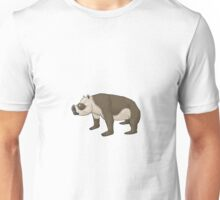 Zygomaturus, the horned 'wombat' Unisex T-Shirt