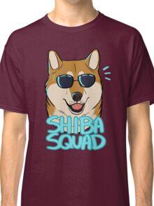 SHIBA SQUAD (red) Classic T-Shirt