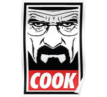 Obey Style, Breaking Bad theme, COOK! Poster