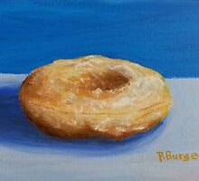 Glazed Donut by Pamela Burger