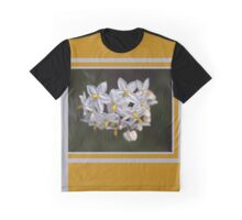 Potato Vine Flowers Graphic T-Shirt
