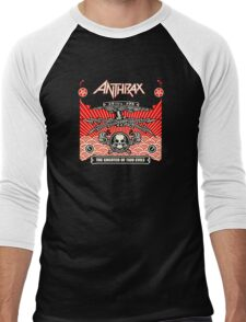 American Thrash Metal Band Anthrax Men's Baseball ¾ T-Shirt