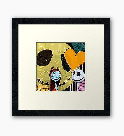 Sally and Jack Framed Print