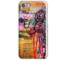 Abstract Weeping Floral iPhone Case/Skin