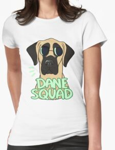 DANE SQUAD (fawn) Womens Fitted T-Shirt