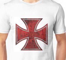 bloody iron cross Unisex T-Shirt