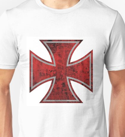 bloody iron cross Unisex T-Shirt