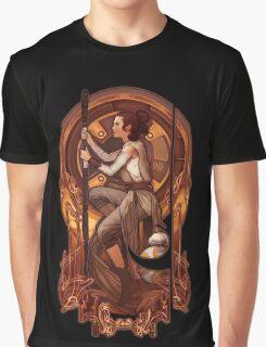 Space Nouveau Graphic T-Shirt