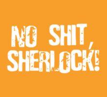 NO SHIT, SHERLOCK! by BYRON