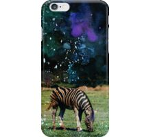 GALAXY ZEBRA iPhone Case/Skin