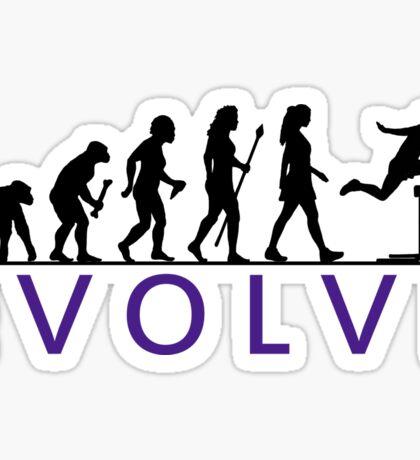 Women's Hurdling Evolution Sticker