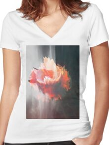 Surreal IV Women's Fitted V-Neck T-Shirt