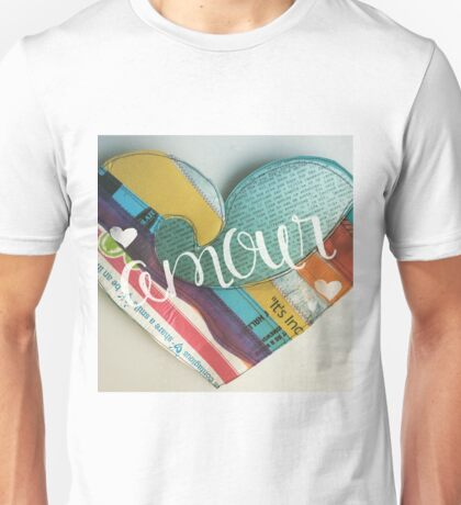 Love Amour Heart Colorado Unisex T-Shirt
